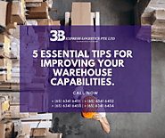 5 Essential Tips for Improving your Warehouse Capabilities