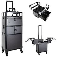 Professional Rolling Makeup Cases on Wheels | Ver Beauty Online | Verbeauty