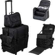 Soft Sided Makeup Cases Online | Rolling Train Case with Wheels | Verbeauty