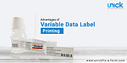 Benefits of using Variable Data Label Printing