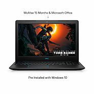 Dell G3 3579 15.6-inch FHD Gaming Laptop (8th Gen Core i7-8750H/8GB/1TB + 128GB SSD/Windows 10 + Ms Office/4GB Graphi...