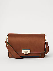 Buy H&M Women Brown Shoulder Bag - Handbags for Women 11655666 | Myntra