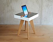 Lucio Solar Charging Table can harness sunlight for you, and you can recharge your gadgets in an eco friendly way! #d...