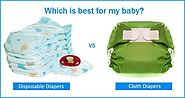 Cloth Diapers Vs Disposable Diapers: What's The Best Pick for Your Baby?