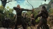 Orlando Bloom learned archery for two whole months before he started filming.