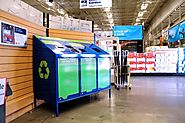 Lowe's helps customers recycle rechargeable batteries