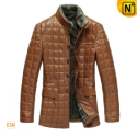 Mens Christmas Padded Winter Coat CW829256 - CWMALLS.COM