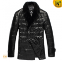 Mens Christmas Double Breasted Winter Coat CW832100 - CWMALLS.COM