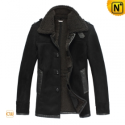 Men Christmas Fur Lined Leather Coat CW819468 - CWMALLS.COM