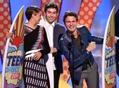 Ansel Elgort, Shailene Woodley, Nat Wolff (Together) Choice Actor,Actress in Drama, Breakout Star (Elgort), Choice Ch...