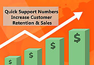 How quick Support Numbers Increase Customer Retention & Sales - IVR Service Provider- VAgent