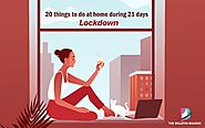 20 Things to do at home | After coronavirus lockdown