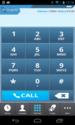 Make calls from phone as well as pc from VoIP dialer