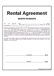 rental agreement template format