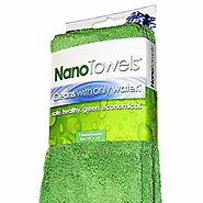 Nano Towels - Amazing Eco Fabric That Cleans Virtually Any Surface With Only Water. No More Paper Towels Or Toxic Che...