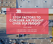 3 Top Factors to Consider Air Freight over Sea Freight