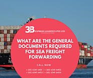 What are the General Documents Required for Sea Freight Forwarding