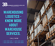 Warehousing Logistics - Know more about Warehouse Services