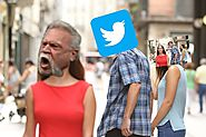 Meme explained: why do I keep seeing the same two angry men on social media? | Media | The Guardian