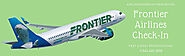 Frontier Airlines Check-in options | AirlineReservationWindow
