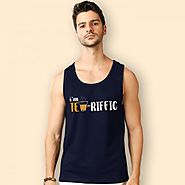 Shop Trending Graphic Vest for Men Online at Beyoung