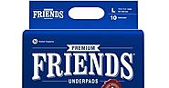 Buy FRIENDS Premium Underpads - Unisex Adult Changing Mats At Amazon.in - Health Care