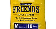 Buy FRIENDS ADULT ECONOMY DISPOSABLE DIAPERS FOR ADULT INCONTINENCE At Amazon.in - Health Care