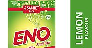 Buy Eno Fruit Salt Supersaver Pack - 5+1 Pieces (Lemon) At Amazon.in - Health Care