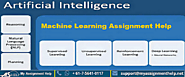 Machine Learning Assignment Help - My Assignment Help