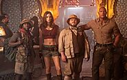 Welcome To Jumanji - The next Level on Screen