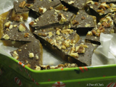 Salted Chocolate Pecan Toffee