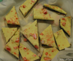 Yummy Layered Peppermint Crunch Bark
