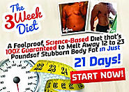The 3 Week Diet - Most controversial diet since the Atkins