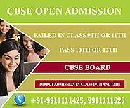 CBSE Open school Admission form 10th/12th last date 2021-2022 Delhi.
