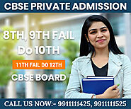 CBSE Private Candidate admission form class 10th, 12th