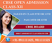 Open school Admission in Delhi for Open School 10th admission, 12th Admission form last date.