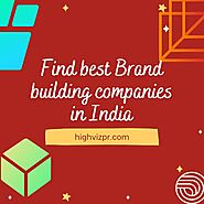 Find best Brand building companies in India