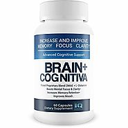 Brain+ Cognitiva - Advanced Cognitive Support - Help Increase and Improve Memory, Boost Mental Focus, and Support Men...