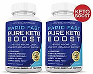 Rapid Fast Pure Keto Boost Pills Advanced BHB Ketogenic Supplement Exogenous Ketones Ketosis for Men Women 60 Capsule...