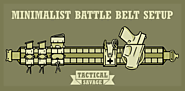 Minimalist Battle Belt Setup - TacticalSavage