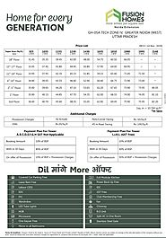 Specific Cost of Fusion Homes - Latest Price List - Payment Plan