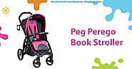 PEG PEREGO BOOKLET BABY STROLLER BABY TRAVEL SYSTEM WITH DIAPER BAG