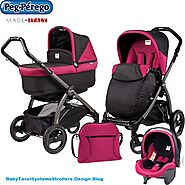 PEG PEREGO BOOKLET BABY STROLLER DIAPER BAG FLEUR – Baby Strollers Travel Systems