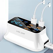 Multi USB LED Display Charging Station | Crazy CLiQ