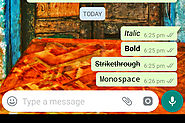How to Format WhatsApp Messages with Italic, Bold, Strikethrough, or Monospaced Text - Alteroid