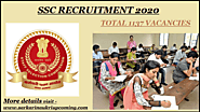 STAFF SELECTION COMMISSION | Total 1137 posts vacancies
