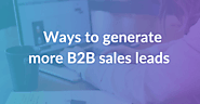 How To Increase B2B Sales With SEO Services In 2020?