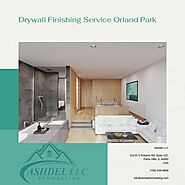 Drywall Finishing Service Orland Park