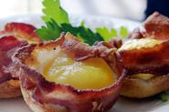 Bacon, Egg, and Cheese Bowls