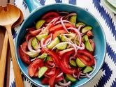 Tomato, Onion, and Cucumber Salad Recipe